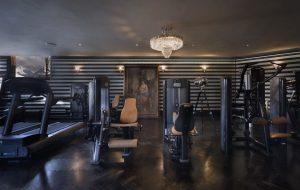 Switzerland's Best Ski Chalet nominee: Chalet Truffe Blanche has a stylish fully equipeed gym