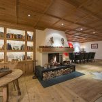 Maria Schnee fireplace