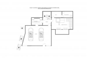 3 Flocons - Ground floor  Floorplan