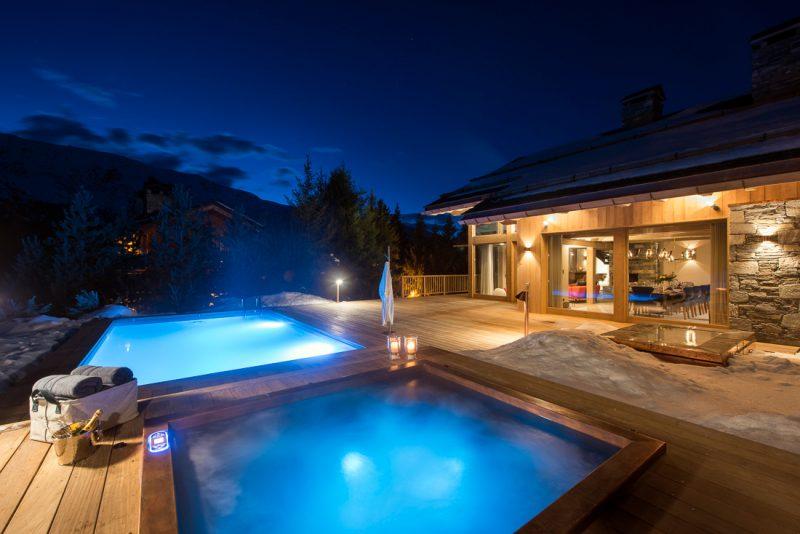 Chalet Alpaca's swimming pool