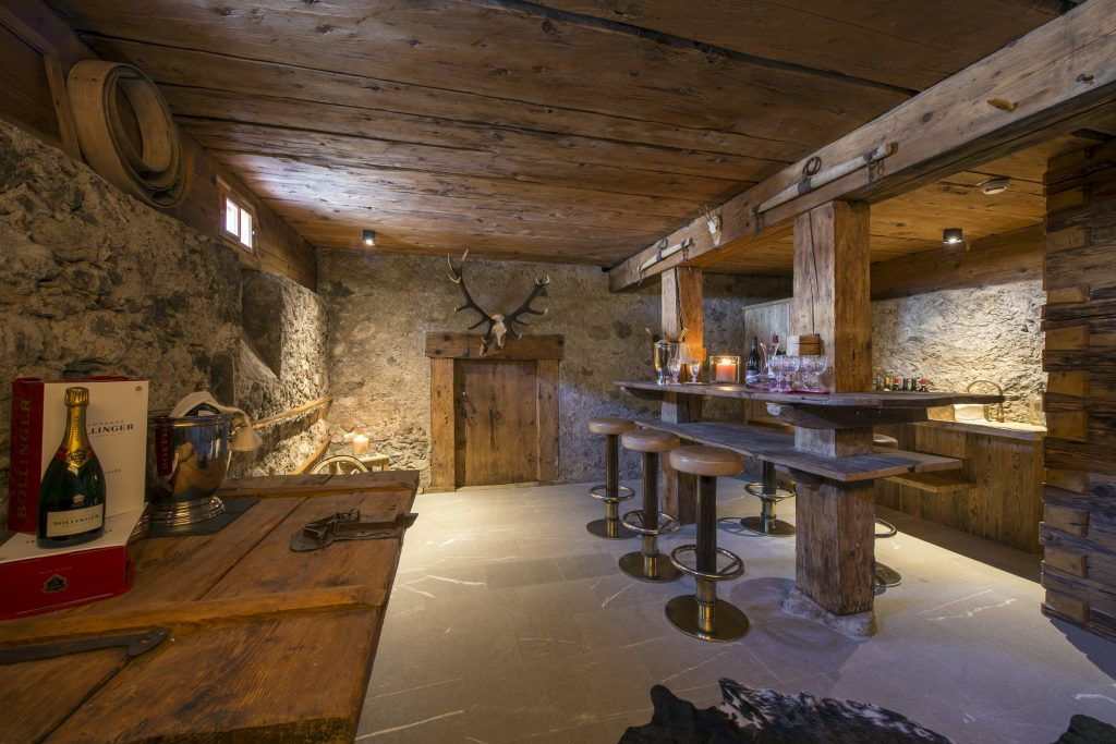 Chalet 1597 has been nominated for Best Ski Chalet in Austria at the World Ski Awards 2017. Here is the wine cave