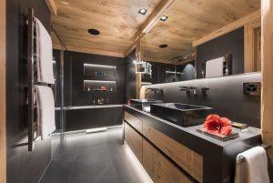 Switzerland's Best Ski Chalet nominee: Chalet Aconcagua's luxury bathrooms