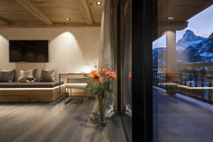 Switzerland's Best Ski Chalet nominee: Chalet Aconcagua holds pride of place with views over the famous Matterhorn
