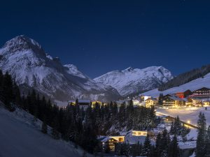 View of Lech at night