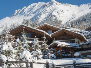 Switzerland's Best Ski Chalet Nominee