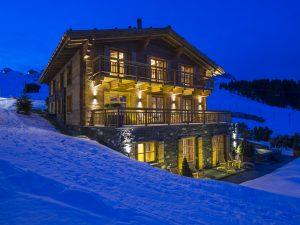Überhaus in the snow