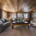 Chalet 1597 living room.
