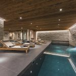 The spa features a swimming pool, sauna, hammam, hot tub and massage treatment room.