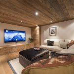 Cinema room.