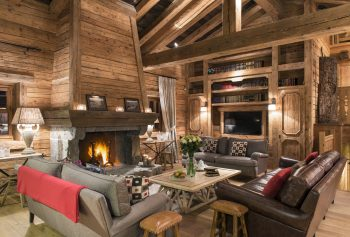 Christmas in a luxury chalet