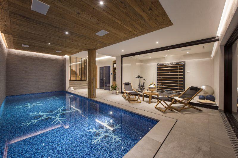 La Vigne's swimming pool