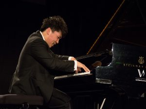 Young pianist George Li at Verbier Festival 2017