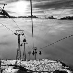 Medran Ski Lift in Verbier