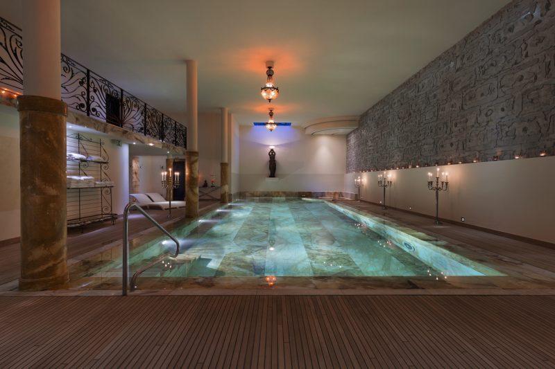 Truffe Blanche's swimming pool