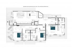 Agate Penthouse - First floor  Floorplan