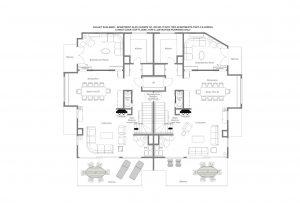 Alex - Living floor (top floor) Floorplan