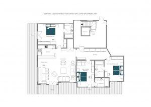 Alexandra - Ground floor  Floorplan