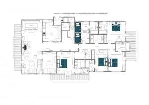 Antoinette - Top floor  Floorplan
