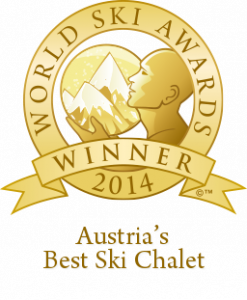 And the Best Chalet in Austria goes to Chalet 1597
