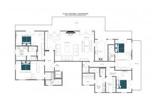 Balegia Apartment 3 - Second floor Floorplan