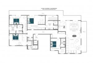 Balegia Apartment 4 - Third floor Floorplan
