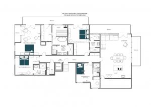Balegia Penthouse - Top floor Floorplan