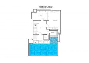 Bella Rocca - Lower ground floor Floorplan