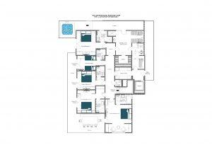 Bühlhof Penthouse - Entrance floor Floorplan