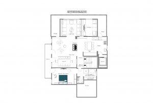 Bühlhof Penthouse - Top floor Floorplan