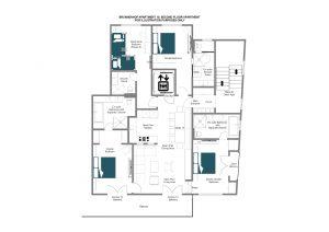 Brunnenhof 10 - Second floor Floorplan