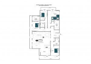 Brunnenhof 11 - Third floor Floorplan