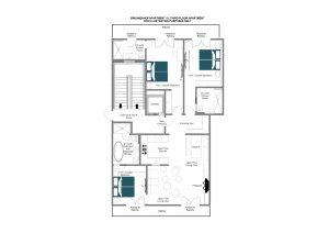 Brunnenhof 12 - Third floor Floorplan