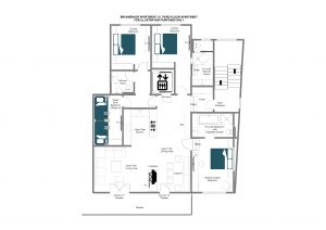 Brunnenhof 13 - Third floor Floorplan