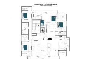 Brunnenhof 14 - Top floor Floorplan