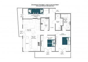 Brunnenhof 4 - First floor Floorplan