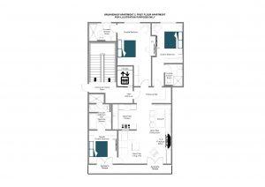 Brunnenhof 5 - First floor Floorplan