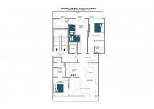 Brunnenhof 9 - Second floor Floorplan