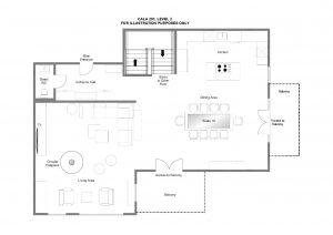 Cala 201 - Second floor Floorplan
