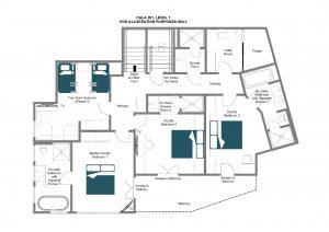Cala 201 - First floor Floorplan
