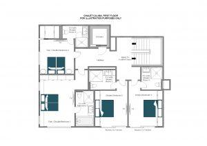 Calima - Second floor  Floorplan