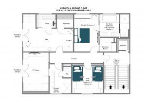 Chalech 4 - Ground floor Floorplan