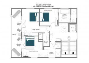 Chalech 4 - First floor  Floorplan