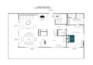 Chalech L - Top floor Floorplan