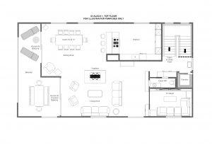 Chalech S - Top floor Floorplan