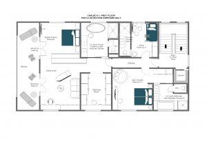 Chalech S - First floor Floorplan