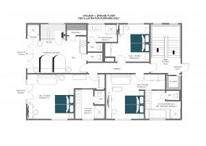 Chalech S - Ground floor Floorplan