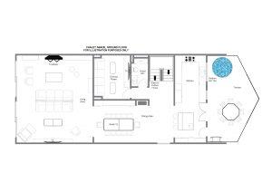 Chalet Abade - First floor Floorplan