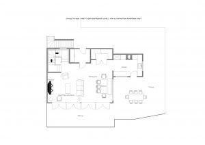 Chalet Aline - Entrance level  Floorplan