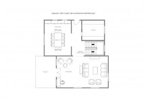 Chalet Almajur - First floor  Floorplan
