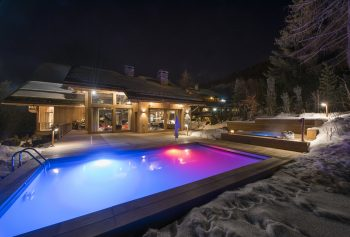 World Ski Awards: World's Best New Ski Chalet, Alpaca in Méribel with an outdoor swimming pool and outdoor copper hot tub